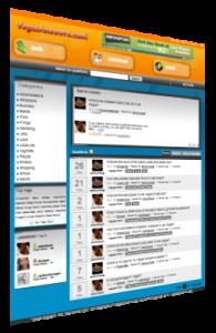 VegasAnswers.com is a website built with QuestionAnswerScipt.com (a Yahoo Answers clone)