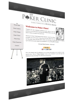 Dutch Boyd&#039;s Poker Clinic